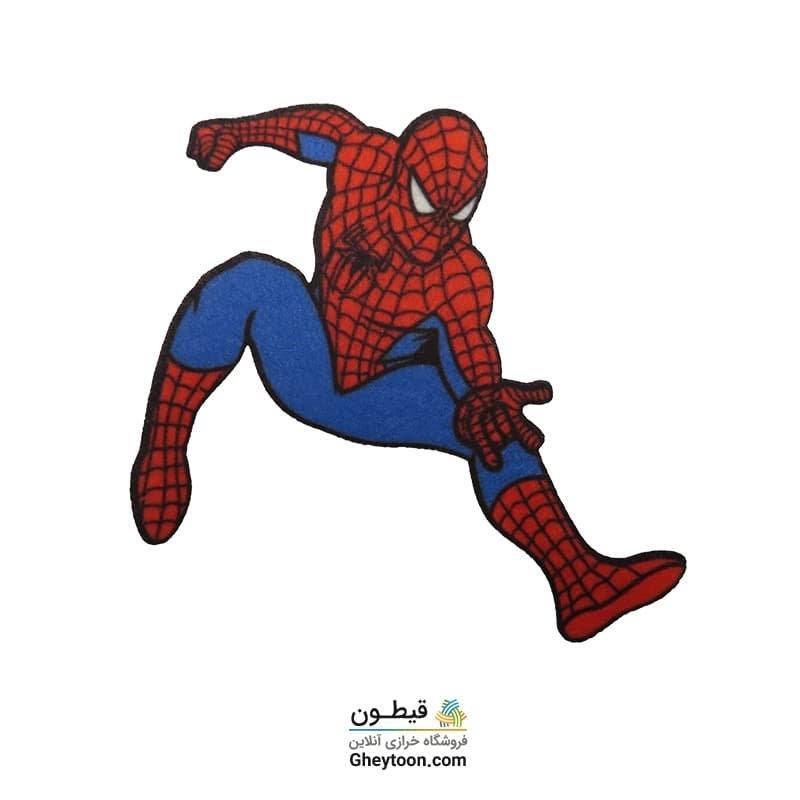 تکه دوزی نمدی مرد عنکبوتی